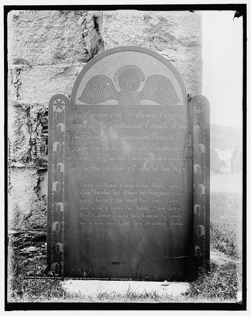 1-st-man-killed-in-the-rev-war-marker