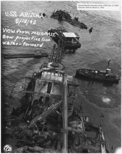 USS_Arizona_View_from_main_mast__Bow_projecting_from_water-_forward_FCP_-_NARA_-_296936_zps446c67e1_compressed
