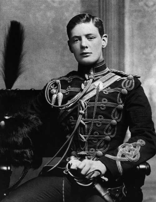 Young Winston Churchill 1895