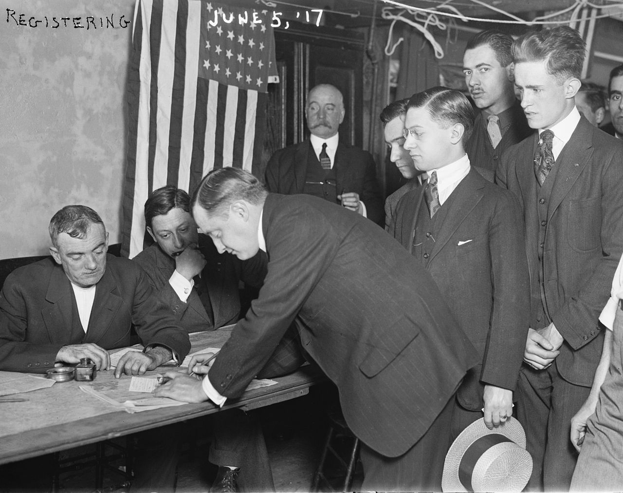 young_men_registering_for_military_conscription_new_york_city_june_5_1917